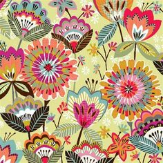 Pretty flowers pattern