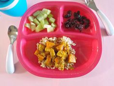 16 Simple Meals for Your that Will Make You SuperMom - Crystal Nix - Baby Foods Healthy Toddler Meals, Healthy Snacks, Healthy Recipes, Toddler Food, Toddler Twins, Sweet Potatoe Bites, Sweet Potato Curry, Baby Meal Plan, Simple Meals