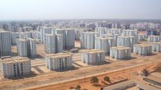 This is sad: Kilamba-Kiaxi, a Chinese-built suburb of Luanda, Angola, completed in 2012