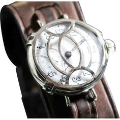1915 WW1 Illinois  Trench Watch, with Protective Shrapnel Guard...