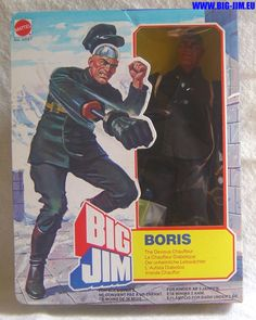 Big Jim Boris The Devious Chauffer Action Figure by Mattel, 1970's