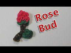 sandylandya@outlook.es  Rainbow Loom Charms: ROSE BUD: How to Tutorial / Design (DIY Mommy)