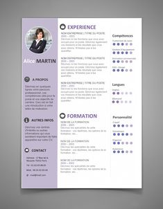The Best Resume Templates for 2016 - 2017 (Word) ~ StagePFE