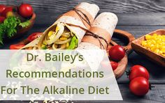 CYNTHIA BAILEY M.D.'S RECOMMENDATIONS FOR THE ALKALINE MEDITERRANEAN DIET...The hardest part about trying to eat mostly alkaline foods is in knowing which foods are acid or alkaline in the first place.  There is inconsistency among food charts and alternative medicine experts regarding the acid and alkaline values of specific foods.  Plus, the values often don't make intuitive sense.