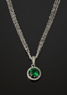 Stunning Emerald Necklace