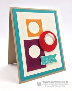 Stampin up stampin up masculine card ideas pretty order online free catalog circle punch demonstrator