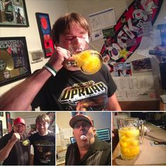 Scott is moving on to #GrubBowl 2014! He downed 12 raw eggs in the What Would You Eat challenge this morning on Rock 94 And 1/2. Spokane's Best Rock.