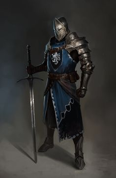 The Knight, Vladimir Buchyk on ArtStation at https://www.artstation.com/artwork/6kk8r