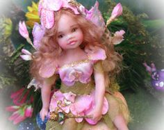OOAK Young Fairy Ginger by FantasyArtDolls on Etsy