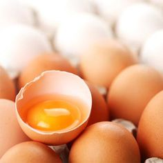 Start your day with eggs. They're packed with just the right nutrients to stabilize blood sugar all day long!