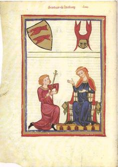 Manesse Codex, 14th Century German Manuscript