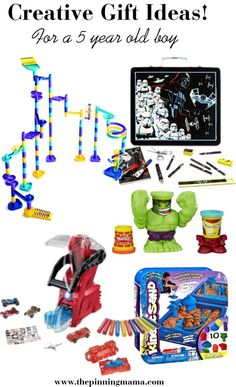 Gift Ideas 5 Year Old Boy