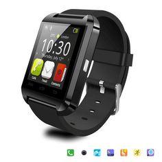 Bluetooth Smart Uhr U8 Armbanduhr U8 SmartWatch Für iPhone 5 S/6 und Samsung S4/Note/s6 HTC Android Phone Smartwatch Geschenk Box //Price: $US $14.34 & FREE Shipping //     #smartuhren