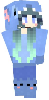 Image result for stitch girl minecraft skin