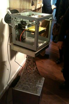iMakr - The Opening of a Printing Store in London - Workshopshed 3d Printing Store, Three Dimensional, 3 D, Printer, London, Printers