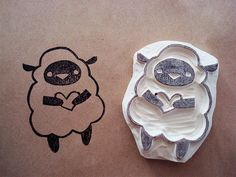 Ewe're Cute Stamp Set! by s. jane!, via Flickr