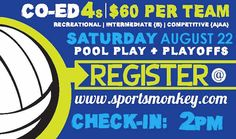 Sports Monkey - Houston's largest recreational sports and social club for adults.