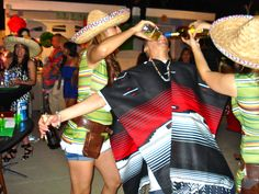 Mexican Themed Party Shot Girls