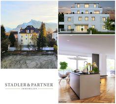 Gut geschnittene 3-Zimmer-Erstbezugs-Wohnung mit Sonnen-Terrasse in der Riedenburg! Villa, Salzburg, Desktop Screenshot, Terrace, Old Town, Real Estate, Homes, Fork, Villas