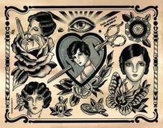 traditional tattoo ladies