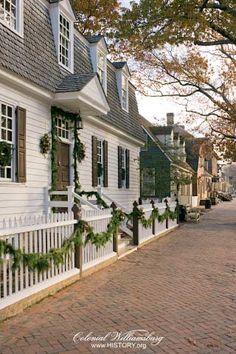 Christmas on Duke of Gloucester - Colonial Williamsburg