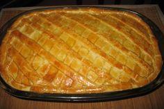 A Receita de Empadão com 2 Ingredientes é deliciosa e fácil de fazer. Você só vai precisar de farinha de trigo e manteiga (ou margarina para uso culinário