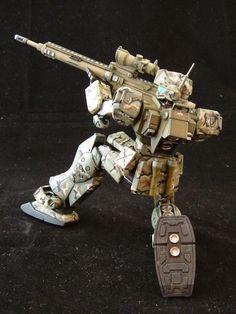 HGUC 1/144 GM Sniper II Custom Build - Gundam Kits Collection News and Reviews