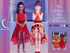 CC Addict, Guilty! — THE SIMS 4 - MIA CHILDRE'S DRESS