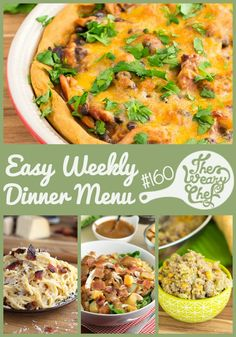 Easy Weekly Dinner Menu #160: Tamale Pie, Succotash, and Valentine's