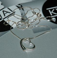 Heart Pendant Necklace by KwaiJewellery on Etsy, $49.95