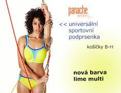 Panache sport: sezónní barva pro podzim2014 - lime multi