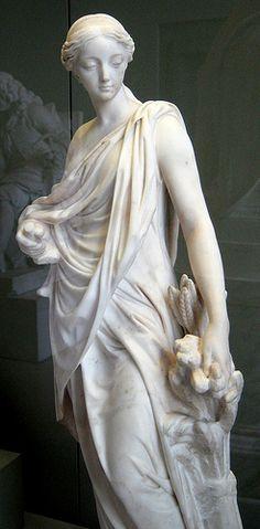 Statue of Cerès - Augustin Pajou, c.1765 Museé du Louvre