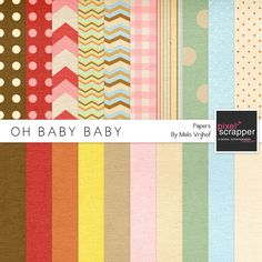 Oh Baby Baby Papers Kit