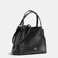 Edie Shoulder Bag 28 in Pebble Leather