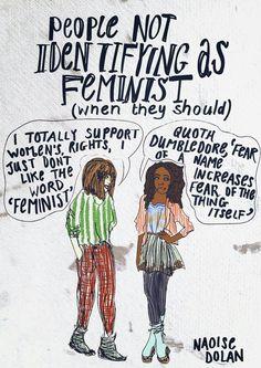 Feminist Elizabethan: Feminist Meme: People Not Identifying As Feminist