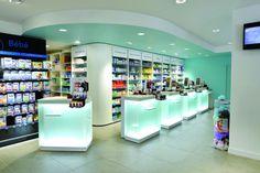 Comptoirs caisse VERRE - Pharmacie Le Bihen (44)