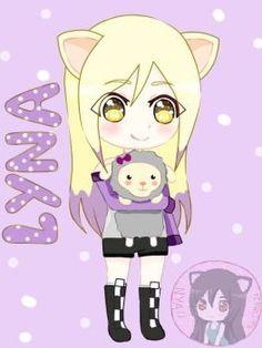 Lyna by on DeviantArt Kawaii Chan, Kawaii Girl, Lyna Youtube, Girls World, School Life, Yui, Anime Chibi, Girl Cartoon, Fan Art