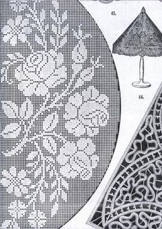Gorgeous Lot Of Art Deco Embroidery Patterns Filet On Popscreen - Diy Crafts - maallure Crochet Books, Diy Crochet, Hand Crochet, Machine Embroidery Designs, Embroidery Patterns, Crochet Patterns, Embroidery Stitches, Filet Crochet Charts, Crochet Borders