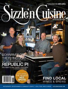 Sizzle'n Cuisine Spokane Edition 2015-2016 | Spokane, Washington | www.northwestsizzle.com