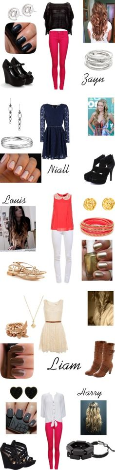 More One Direction outfit inspirations. We love these!