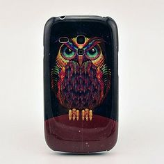 Owl Hard Back Cover Case for Samsung Galaxy S3 Mini I8190 – EUR € 2.75