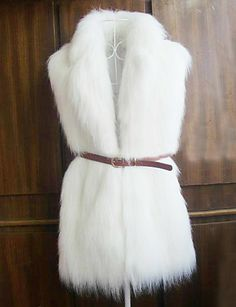 Sleeveless Shawl Faux Fur Party/Casual Vest(More Colors)