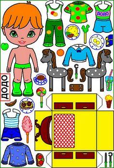 Babies dolls. Малыши и коробки-бумажные куклы. - Мария Мальцева - Picasa Web Albums