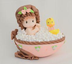 BABY GIRL cake topper. baby  cake topper. by ForeverSweetfavors, $35.00