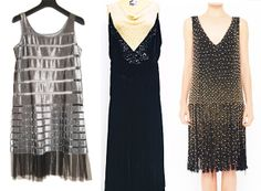 Roaring '20s office themed holiday party? These are our thrifted picks from @Vaunte + Etsy.
