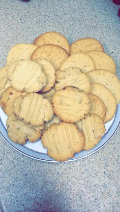 My peanut butter cookies!