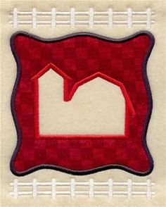 Machine Embroidery Designs at Embroidery Library! - Farm (Applique)