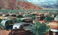 13 delightful vintage mobile homes images vintage campers trailers rh pinterest com