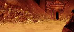 Animation Backgrounds: ALADDIN - Cave of Wonders Pan Background