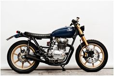 Yamaha | that blue and gold...